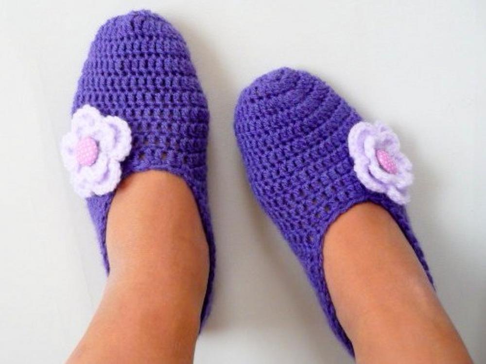 WoolAffair - handmade - Häkelanleitung Hausschuhe häkeln - Damen ...