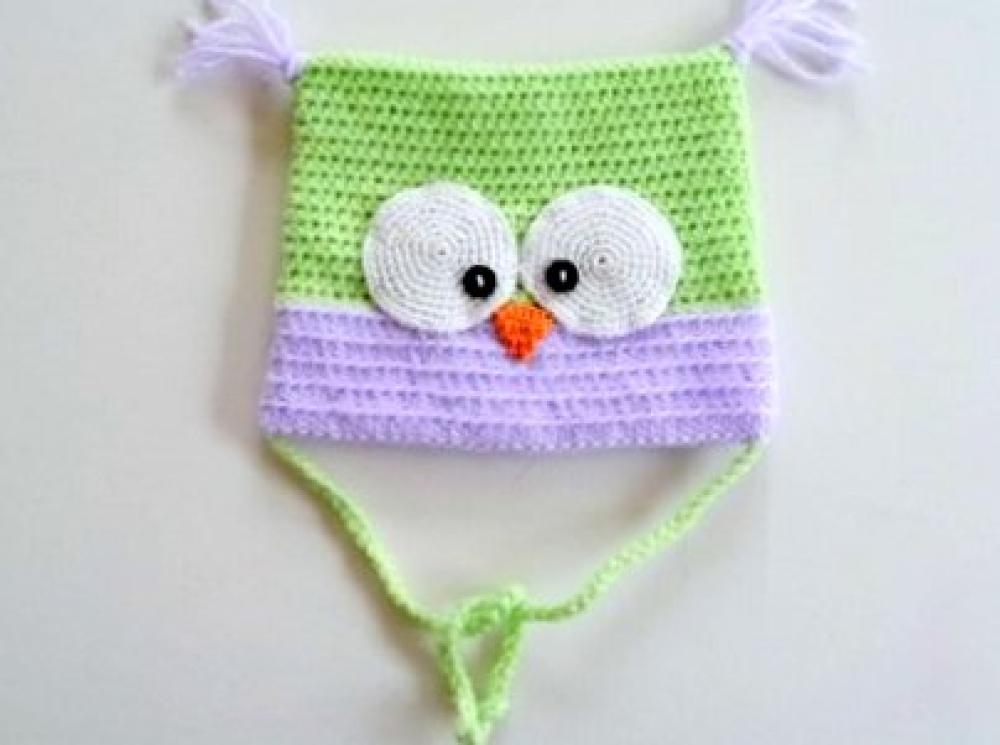 3142f898d6 WoolAffair GbR - handmade - Häkelanleitung - Babymütze - Eulenmütze ...