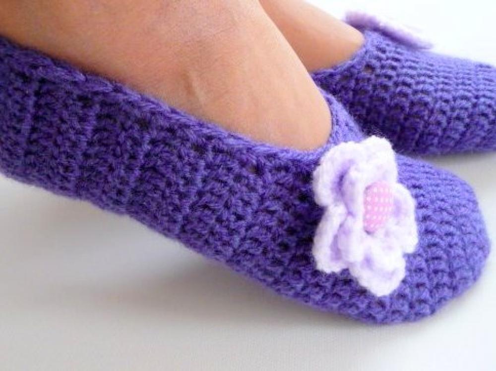 Woolaffair Handmade Häkelanleitung Hausschuhe Häkeln Damen