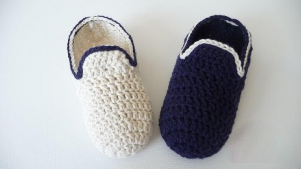 Woolaffair Handmade Häkelanleitung Hausschuhe Häkeln Loafers