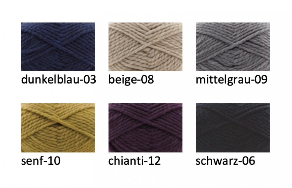 Wollpaket Cardigan DUSTY (ohne Anleitung)
