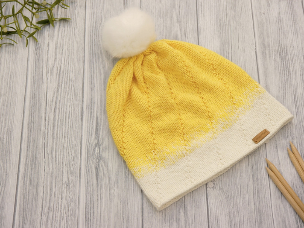 Wollpaket Beanie LIMON