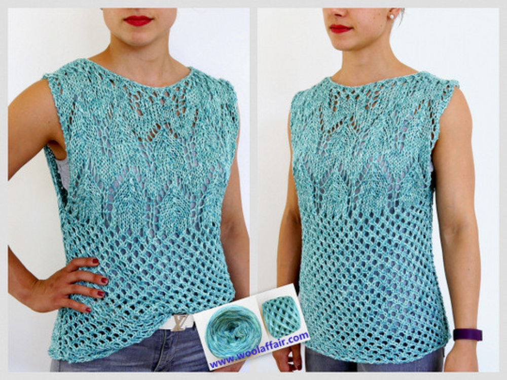 Wollpaket Stricktop PAZIFIC