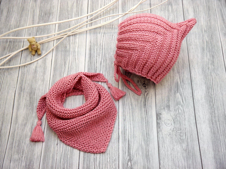 Woolaffair Handmade Strickanleitung Zwergen Set Pixie Mütze
